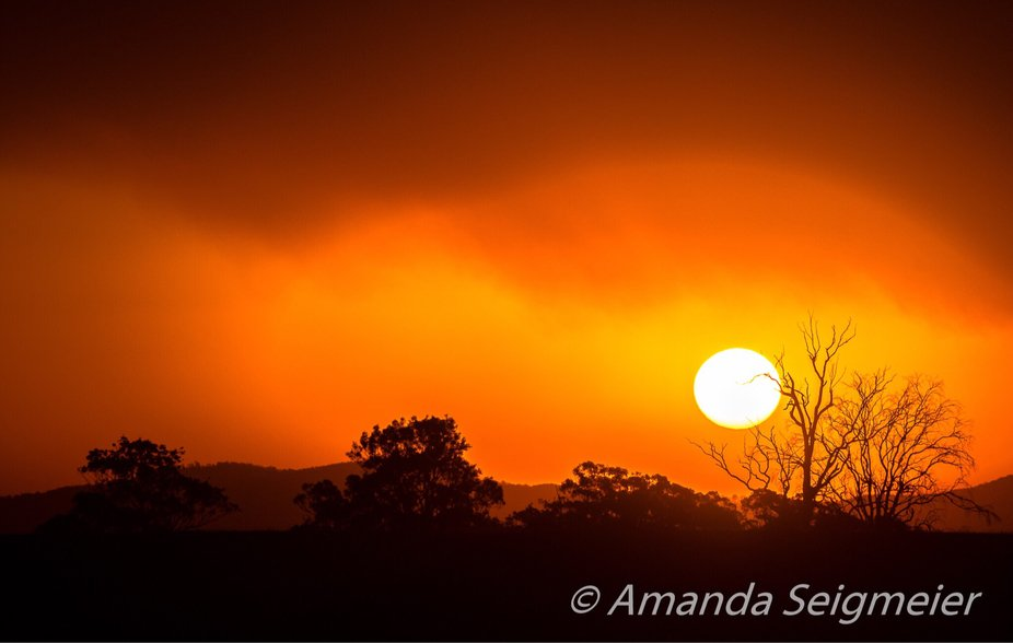As the sun Set - Smokey Sunset from back in February this year.
