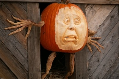 Pumpkin fright