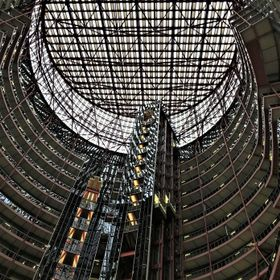 Inside view of State of Illinois Building /Thompson Center design Helmut Jahn. This is another piece of Chicago architecture that may go on the s...