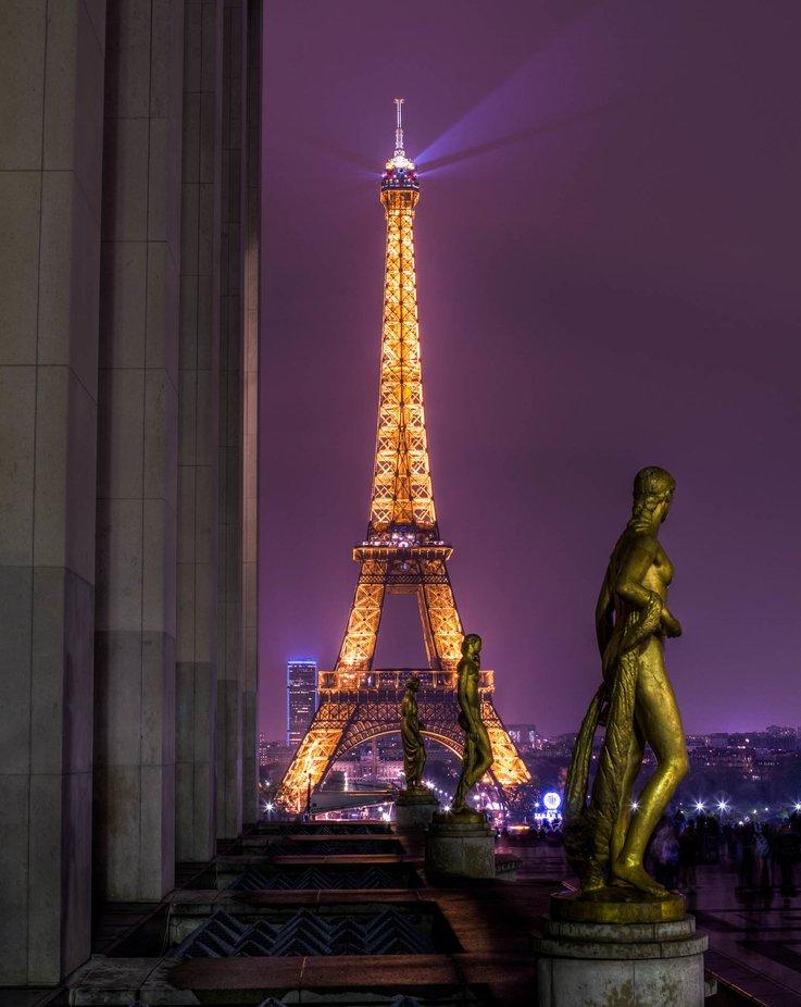 Trocadero by sergeramelli - Bright City Lights Photo Contest