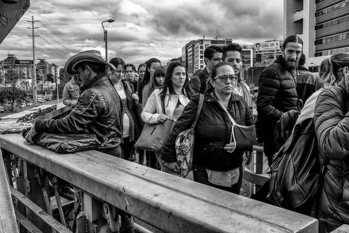 Bogota - Colombia, busstation