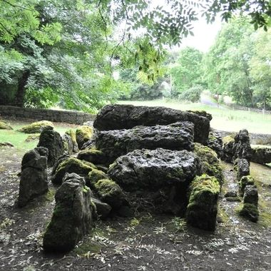 Wedge Tomb at Lough Gur, Limerick dates from approx 2,500 BC