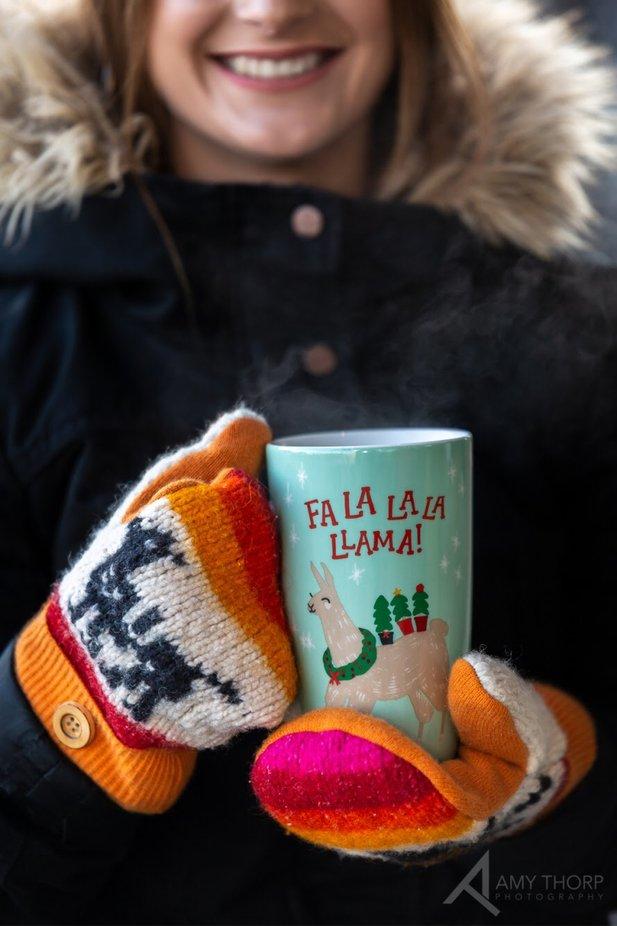 Mittens on Mug by AmyThorp - Colorful Macro Photo Contest