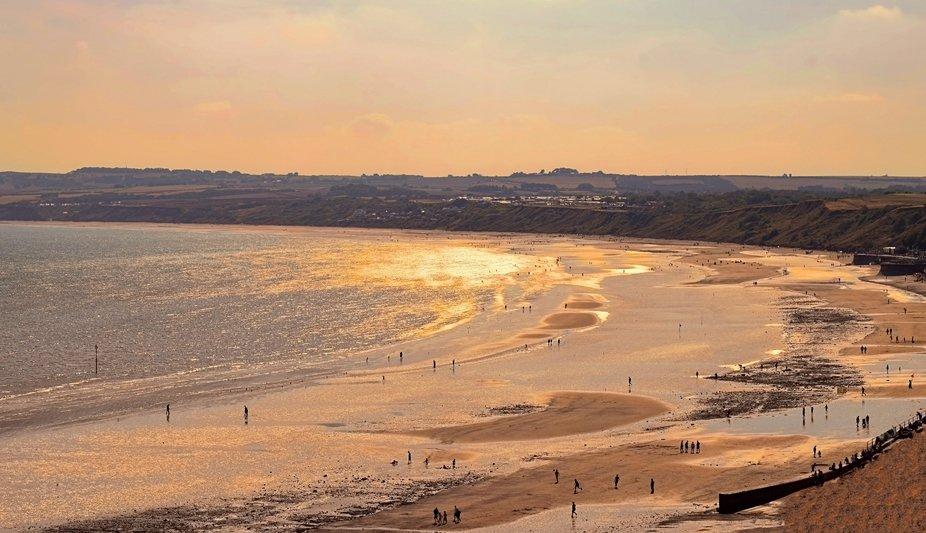 Filey Bay Sunset