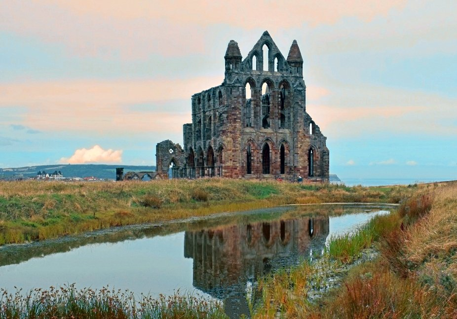 Whitby Abbey Late Evening