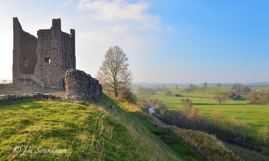 Brough Castle is a ruined castle in the village of Brough, Cumbria, England. The castle was built...