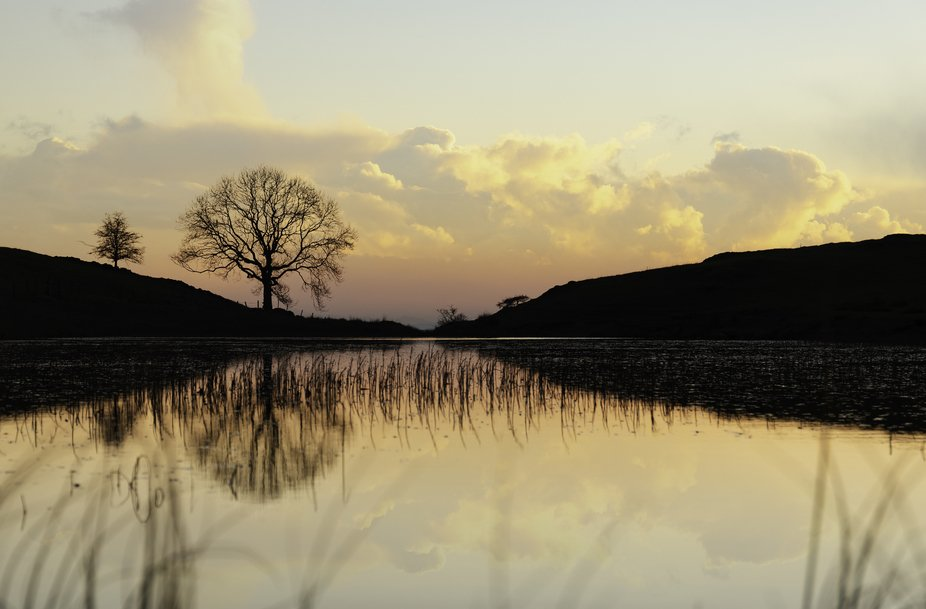 Sunset in the English Lake District
