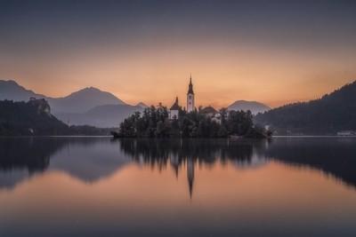 Awakening at Lake Bled