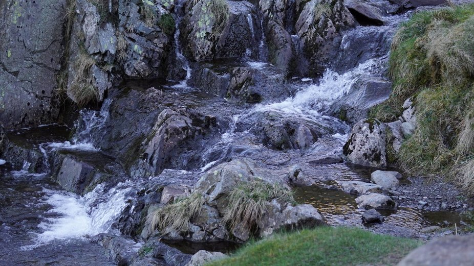 A ROCKY STREAM In the Mountains of THE LAKE DISTRICT U.K