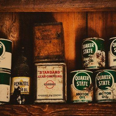Vintage Quaker State Oil