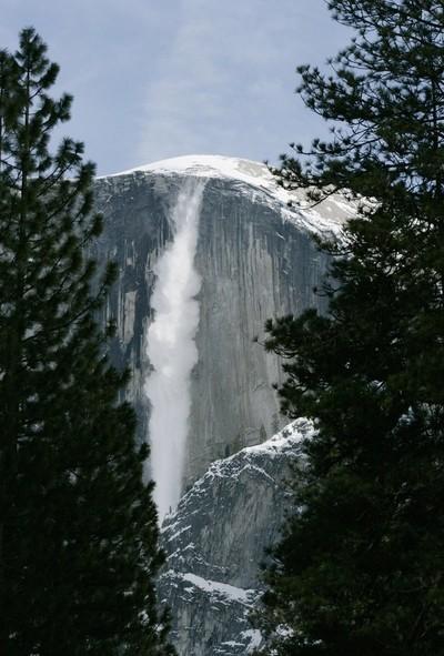 Ice Fall at Half Dome, Yosemite