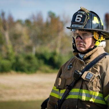 Portraits of Firemen and EMS training