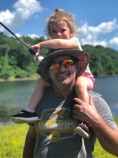 Fishing with Papa