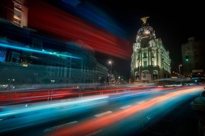 Metropolis by alvarosj - Bright City Lights Photo Contest