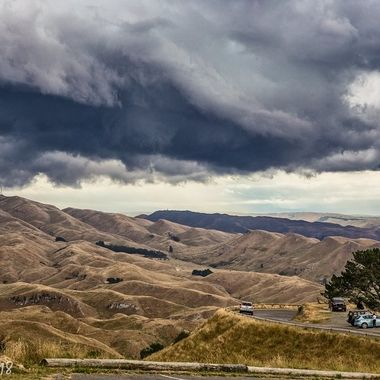 Over the wonderful hills of NZ.