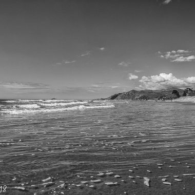 Christmas day on Ocean Beach NZ, Stunning!