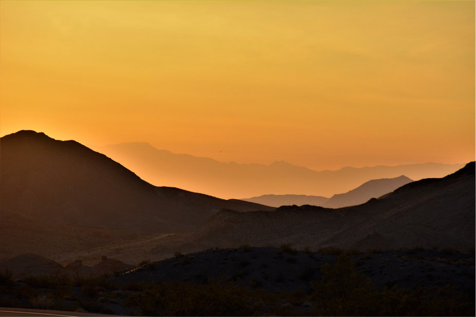 Sunset in Nevada!