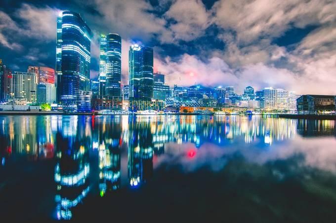 Misty City by PetarBphotography - Bright City Lights Photo Contest