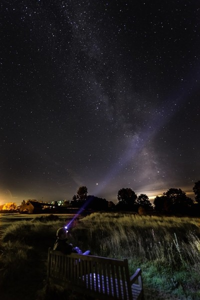 Enjoying the Milky Way