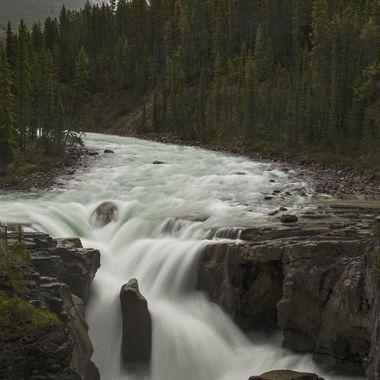 jasper national park sunwapta falls