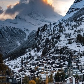 I played hide & seek for a couple of hours at Zermatt, waiting for the iconic Matterhorn - The Jewel of the Swiss Alps, to show itself. Alas,...