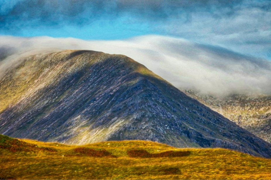 Heading north west across Rannoch Moor on the A82, I briefly stopped and took a few shots with my...