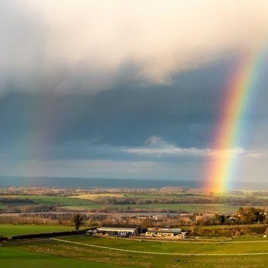 Rainbow over Westbury