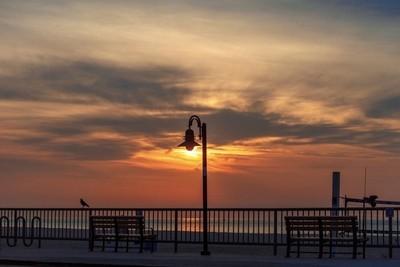 Beach Light Sunrise