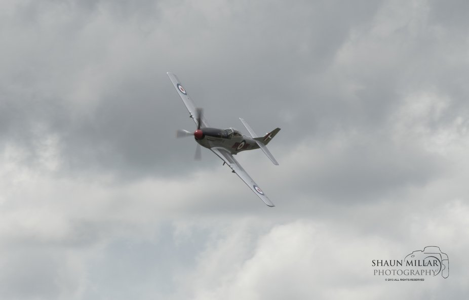 Mustang P51-D at the Ardmore Warbirds air show