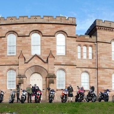 complete with DGR Motorcyclists 2018