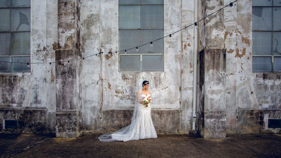 Wedding day at the Marigny Opera House in New Orleans, LA