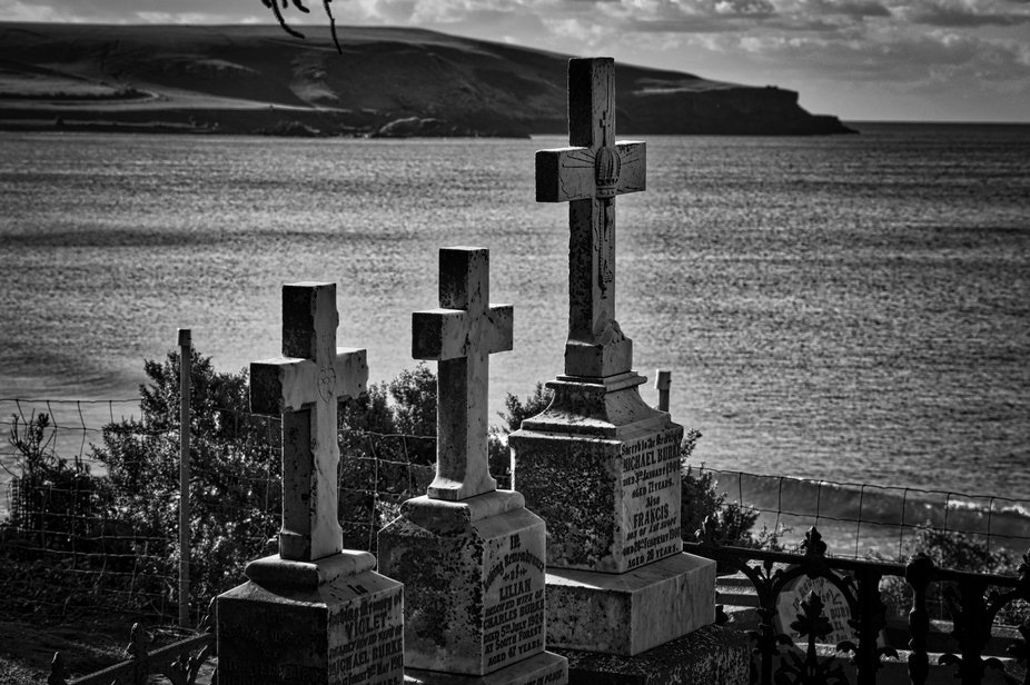 A re-edit of one of the very first cemeteries that I ever photographed. A cemetery with a view at...