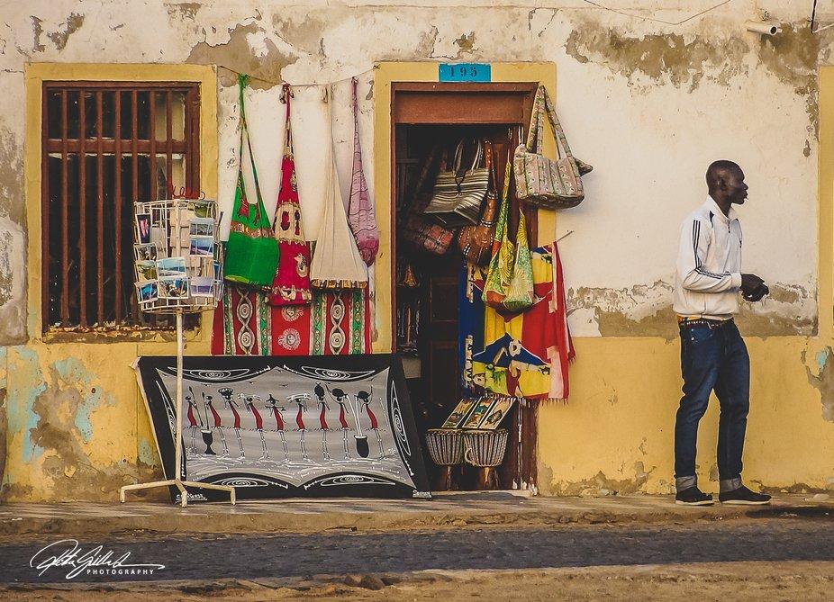 A store in Cape Verde