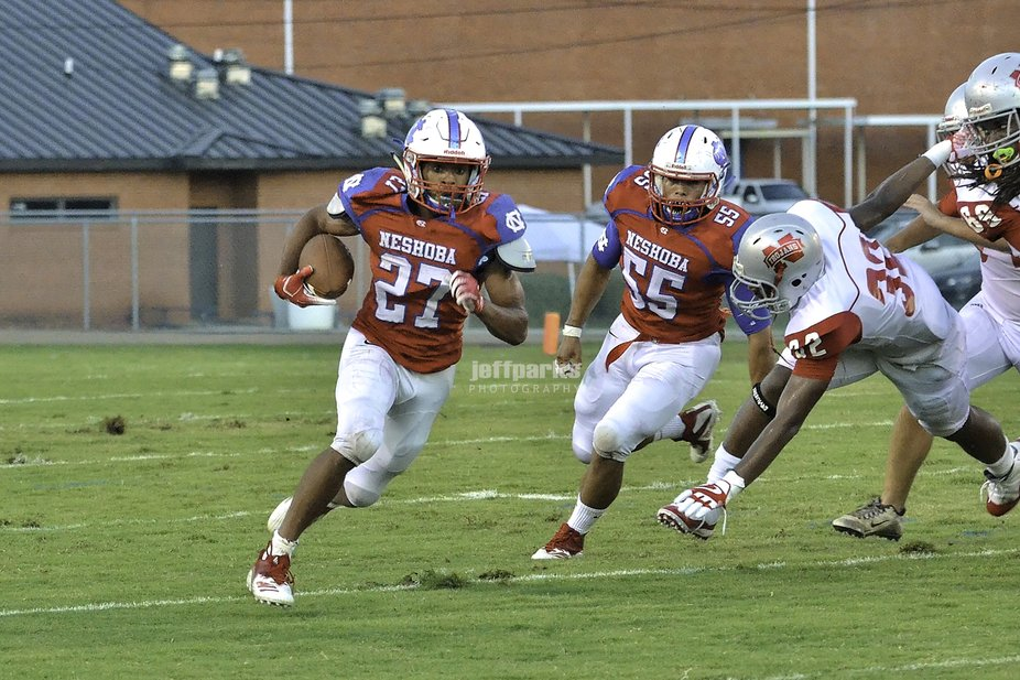 Neshoba Central (MS) Running Back with a Touchdown run.