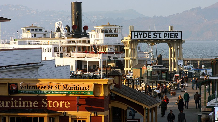 San Francisco Bay, Canon, Pacific Ocean, Boat, Pier
