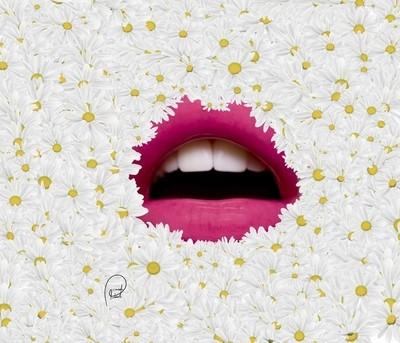 lips&flowers
