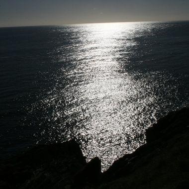 Black & White Ocean