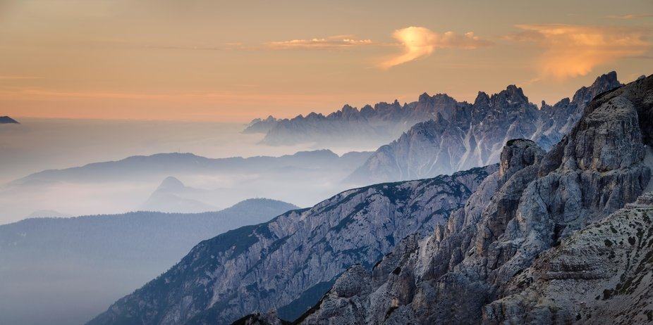 The many layers of the Dolomites