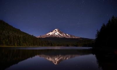 Trillium Lake, Under Stars