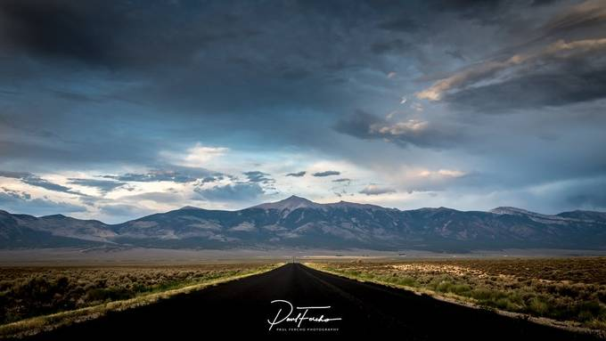 Wheeler Peak - Nevada by PaulFercho - Straight Roads Photo Contest