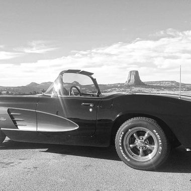 61 Corvette and Devils Tower