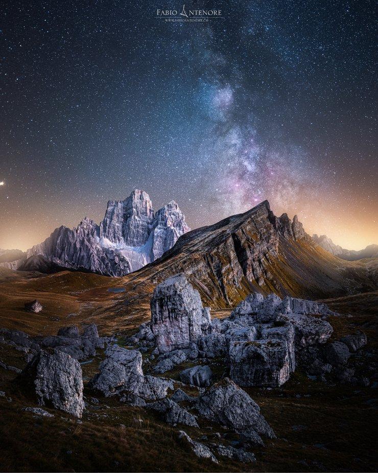 Age of Stones by dustpixxByFabioAntenore - Capture The Milky Way Photo Contest