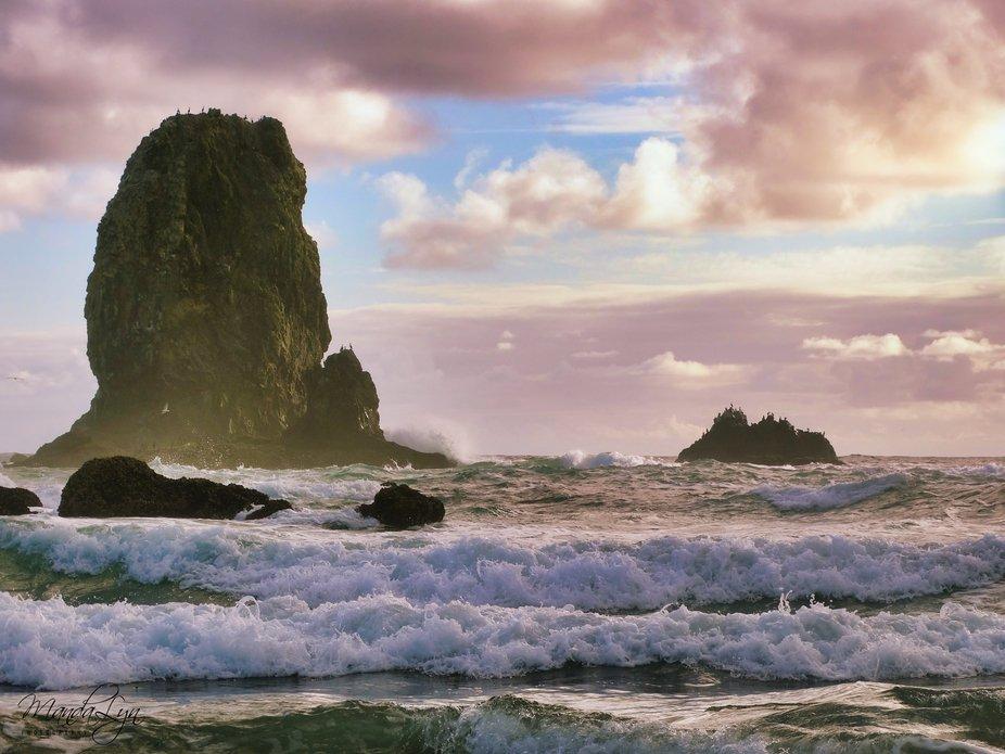 The Peaceful Oregon Coast....