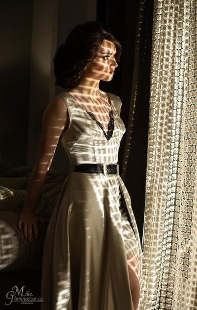 Sarah Forgie, HMUA- Nesserine Hdr, dress Karissa Besharah