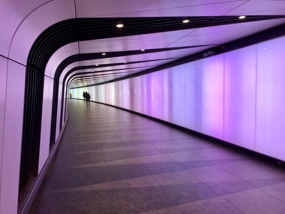 St. Pancras Station underpass