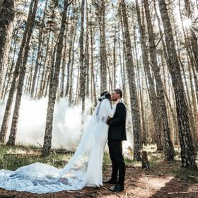 Celebrating this couple's special day in the forests of Mangawhai