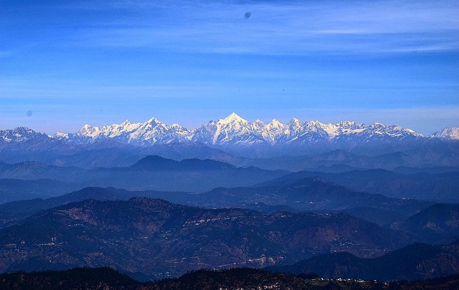 We climbed upto the zero point trek of binsar a place in Amlora, Uttarakhand Where we get this te...