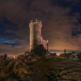 A small tower near Madrid (Spain)  Panorama Taken with sonya7rIII + laowa 12