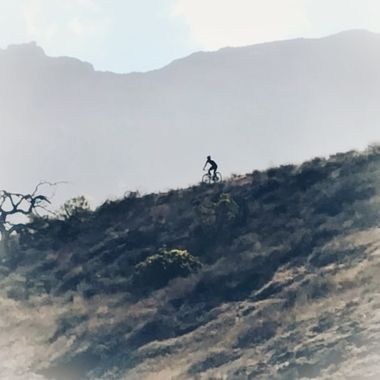 Downhill racer!