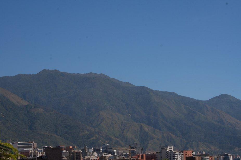 Partial view of El Avila Caracas, Venezuela